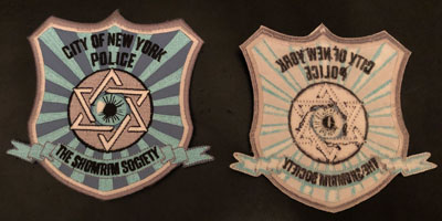 Shomrim Society Patch