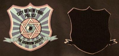 Shomrim Society Velcro Patch